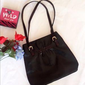 Gorgeous Victoria's Secret Black Leather Mini Bag